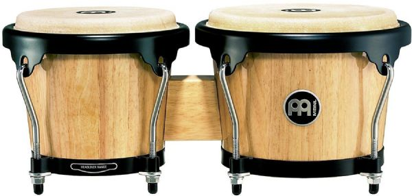 Meinl Percussion 6 3/4-inch and 8-inch Bongo - Natural - HB100NT